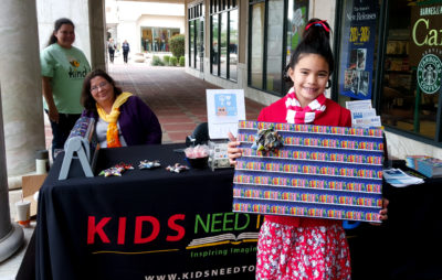 KNTR Elves Bring Holiday Cheer to Barnes & Noble Gift Wrapping ...